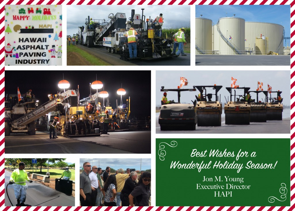 2014 hapi holiday card hawaii asphalt paving industry. Black Bedroom Furniture Sets. Home Design Ideas